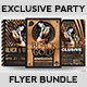 Exclusive Party Flyer Bundle V2 - GraphicRiver Item for Sale