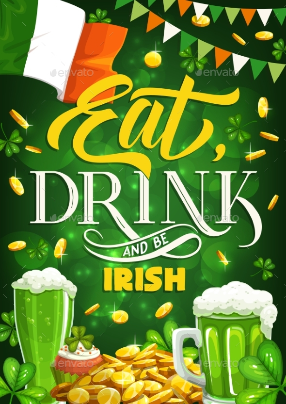 Patricks Day Shamrock Irish Holiday