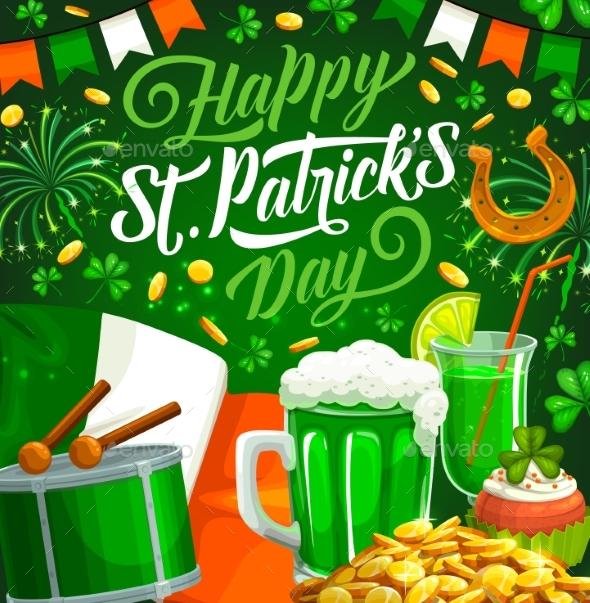 Patricks Day Irish Green Clover