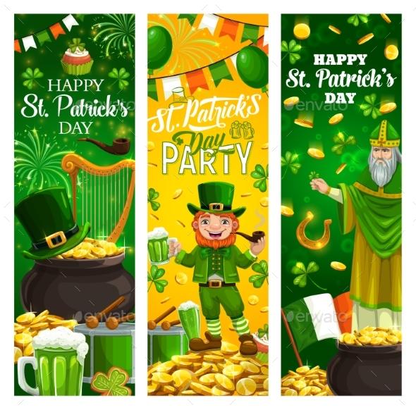 Patricks Day Holiday, Irish Symbols