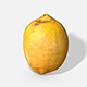 Fruit Lemon - Photoscanned PBR - 3DOcean Item for Sale