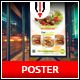 Restaurant / Fastfood Poster - GraphicRiver Item for Sale