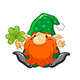Cartoon Elf and Dwarf Characters - GraphicRiver Item for Sale