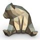 Panda figure 5 - 3DOcean Item for Sale