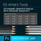 20 Dynamic Graphite Pencil Brushes - GraphicRiver Item for Sale