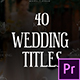 Romantic Titles | Premiere Pro - VideoHive Item for Sale