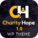 Charity Hope - Non-Profit & Fundraising WordPress Charity Theme - ThemeForest Item for Sale