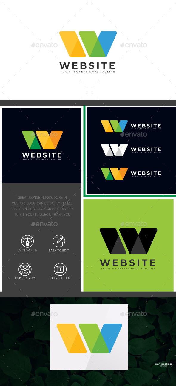 Website - W Letter Logo