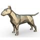 Bull terrier figure - 3DOcean Item for Sale