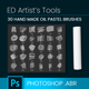 30 Handmade Oil Pastel Marks - GraphicRiver Item for Sale