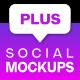 Social Media Post & Profile Mock-Ups | Mogrt - VideoHive Item for Sale