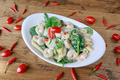 spinach and shrimp pasta dish - PhotoDune Item for Sale