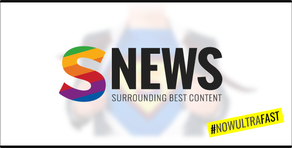 SNEWS |  Eye-catching Magazine, Reviews & Newspaper WordPress Theme