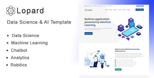 Lopard - Data Science & AI HTML Template
