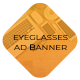 Eyeglasses Ad Banners - CodeCanyon Item for Sale