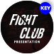 Fight Club Sports Keynote Template - GraphicRiver Item for Sale