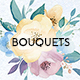 Flower Bouquets - Watercolor Collection - GraphicRiver Item for Sale