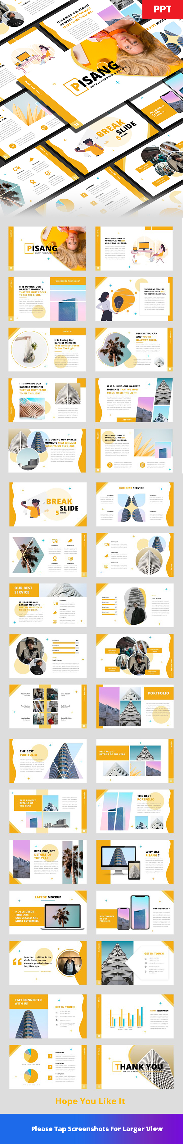 Pisang - Creative PowerPoint Template