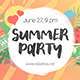 Summer Party Promo - VideoHive Item for Sale