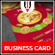Pizza Restaurant Business Card - GraphicRiver Item for Sale