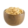 Salted peanuts in a wooden bowl - PhotoDune Item for Sale