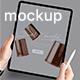 Pad Pro App Mockup - GraphicRiver Item for Sale