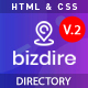 Bizdire – Business Directory HTML Template - ThemeForest Item for Sale