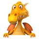 Fun dragon - GraphicRiver Item for Sale