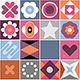 Abstract Geometric Patterns Background - GraphicRiver Item for Sale