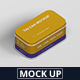 Tin Can Mockup Flat Rectangle - GraphicRiver Item for Sale