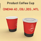 Product Coffee Cup - 3DOcean Item for Sale