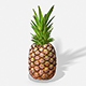 Exotic Fruit Pineapple - Photoscanned PBR - 3DOcean Item for Sale