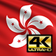 Hong Kong Flag 4K - VideoHive Item for Sale