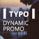 Dynamic Typo Promo Premiere Pro MOGRT - VideoHive Item for Sale