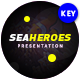Sea Heroes Keynote Template - GraphicRiver Item for Sale