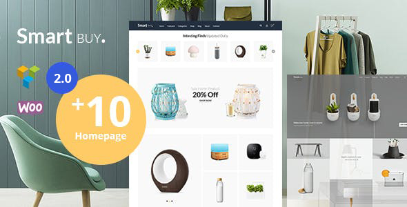 Smartbuy - Shop WooCommerce WordPress  For Digital and Garden Home Theme