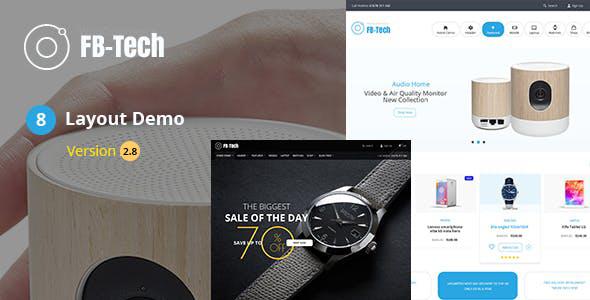 FB Tech - Digital shop RTL WooCommerce Theme