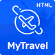 MyTravel - Hotels, Flights & Vacations HTML Template