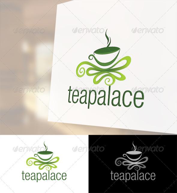 Tea Palace Logo Template