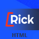 Rick – Mobile eCommerce HTML Template - ThemeForest Item for Sale
