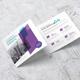 Annual Profile Square Trifold - GraphicRiver Item for Sale