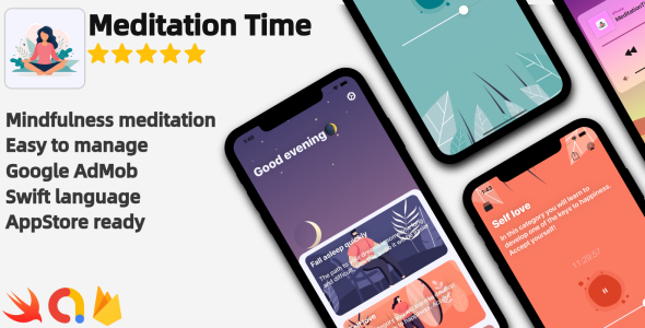 Meditation Time - Full iOS Application Download