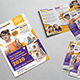 School Education Flyer & Trifold A4 Brochure - GraphicRiver Item for Sale