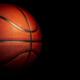 Basketball Hitting Backboard