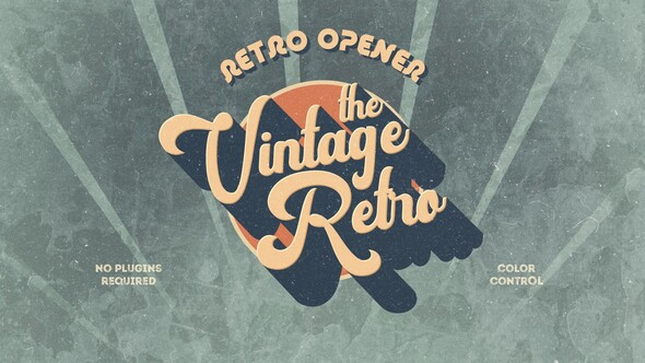 Retro Vintage Opener