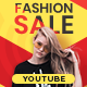 Fashion Sale Youtube Cover Template Set - 5 Designs - GraphicRiver Item for Sale