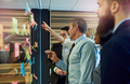 Business people pointing at sticky notes - PhotoDune Item for Sale