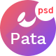 Pata - Creative Multipurpose  PSD Template - ThemeForest Item for Sale