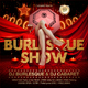 Burlesque Show Flyer Template - GraphicRiver Item for Sale