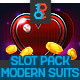 Full Modern Suits Slot Asset - GraphicRiver Item for Sale